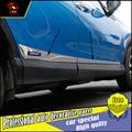 NUEVOS ACCESORIOS PARA Toyota RAV4 2014 2015 2016 de acero inoxidable de LA PUERTA LATERAL DEL CUERPO ADORNE MOULDING ajuste de LA CUBIERTA de PROTECCIÓN CAR STYLING