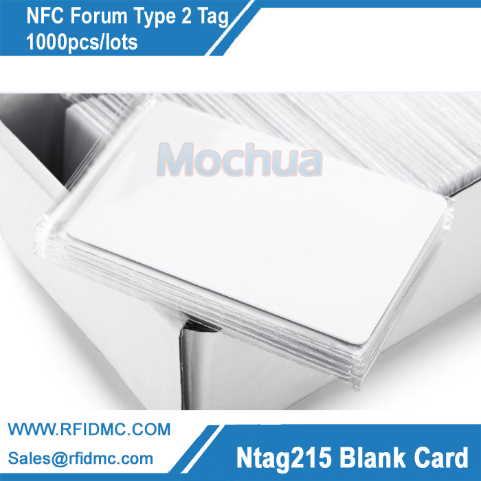 NFC Tag NFC Forum Type 2 Tag with Ntag215 card for All NFC enabled devices