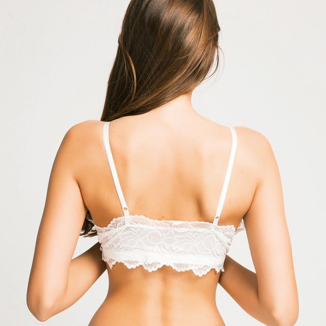 Missomo 2017 New Fashion Women Trim Underwear White Sexy Push Up Lace Bralettes Trim Underwear Adjustable Strap Soft Bras