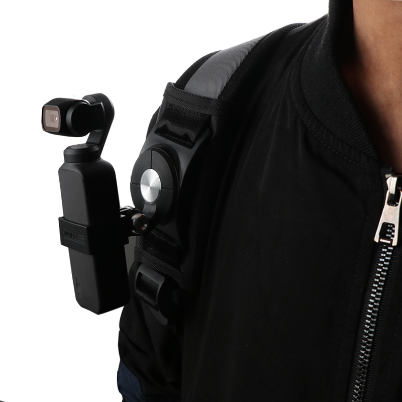 Osmo Pocket Backpack fixed straps adapter bracket for DJI OSMO Pocket  Handheld gimbal for gopro hero camera AccessoriesOsmo Pocket Backpack fixed straps adapter bracket for DJI OSMO Pocket  Handheld gimbal for gopro hero camera Accessories