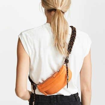 Women Chest Bags Fashion Weaving Belt Leather Messenger Bag Casual Shoulder Bag Female Zipper Phone Wallet Waist Packs 183 - DISCOUNT ITEM  39% OFF All Category