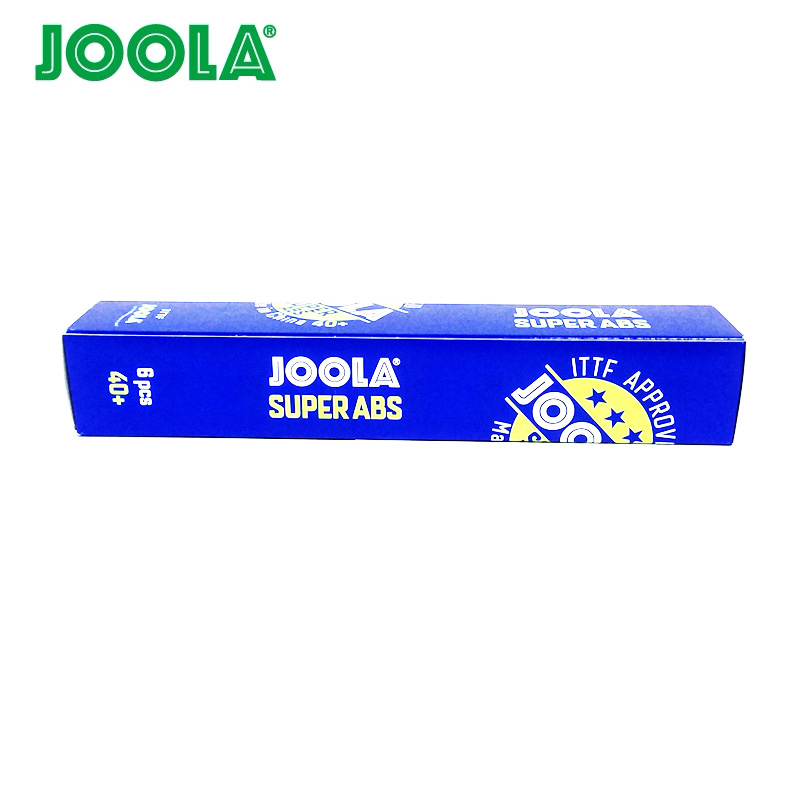12 Balls JOOLA 3-Star SUPER ABS Table Tennis Ball ITTF Approved New Material Plastic 40+ Ping Pong Balls