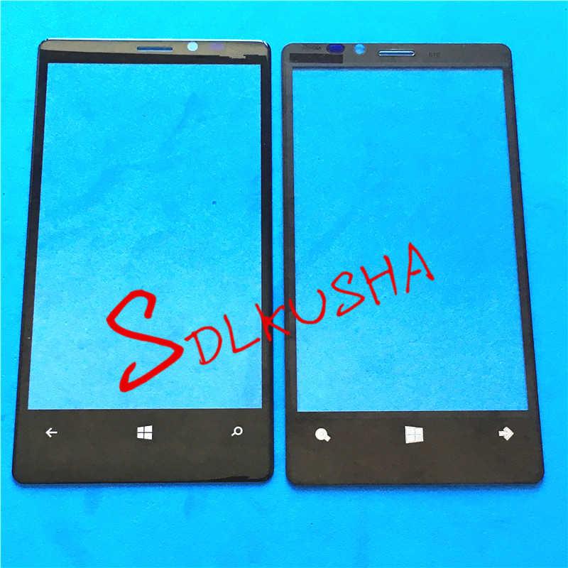 عدسات زجاجية للشاشة الخارجية الأمامية شاشة تعمل باللمس لهاتف نوكيا لوميا 920