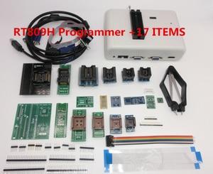 Image 4 - 100% Nguyên Bản RT809H EMMC Nand FLASH Lập Trình Viên Với BGA48 BGA63 BGA64 BGA169 Adapter RT809H EMMC Flash Nand TSOP48