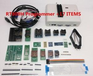 Image 4 - 100% Original RT809H EMMC Nand FLASH Programmer  with BGA48 BGA63 BGA64 BGA169 Adapter RT809H EMMC Nand Flash TSOP48