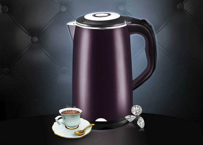 Electric kettle 304 stainless steel thermal insulation home cooking boiling tea Safety Auto-Off Function electric kettle boiling pot 304 stainless steel home insulation 1 5l safety auto off function