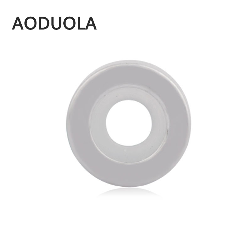 2Pcs Lot Stainless Steel Positioning Spacer Beads with Rubber stopper DIY Bead for Jewelry Making Fit For Pandora Bracelet