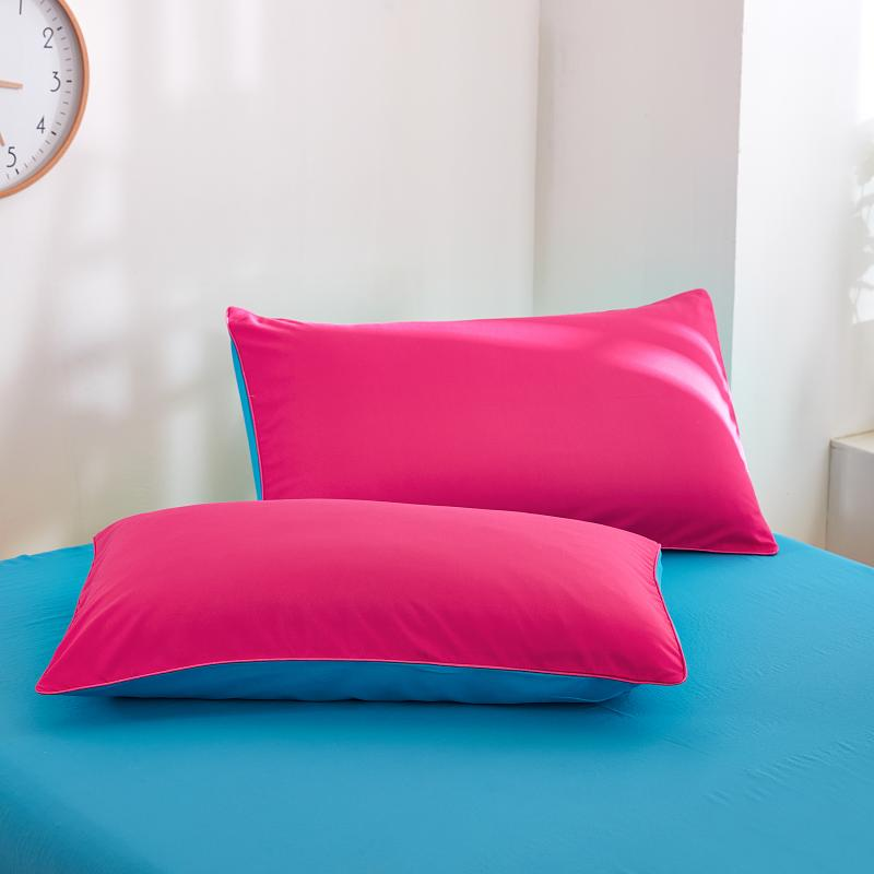 Special Custom Ru Size Double Family Europe Pillowcase Square  Pillowcover 70*70cm ,4color ,Rose Red Gem Blue