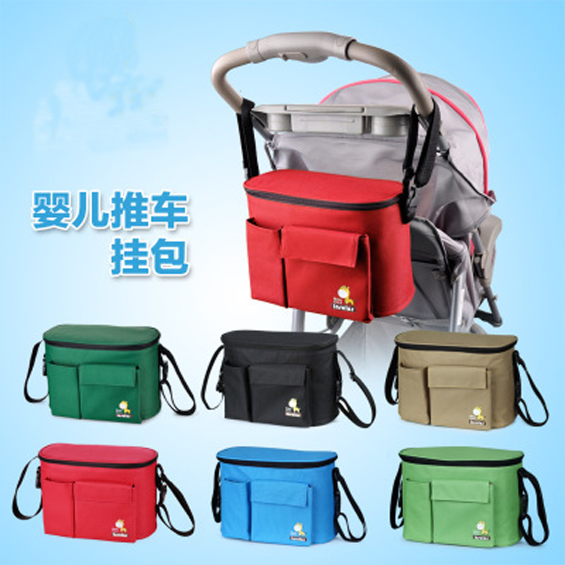 Diaper-Bags Nappy Strollers Mommy Baby Waterproof for Thermal-Insulation