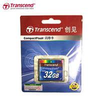 100% Originale Transcend 400X Scheda di Memoria di Capienza Reale 32GB 16GB Professionale CF Card Compact Flash Per La Macchina Fotografica DSLR HD 3D Video