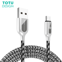 TOTU Micro USB Cable For Samsung Xiaomi Huawei Android Phones Fast Charging Cord Data Sync USB