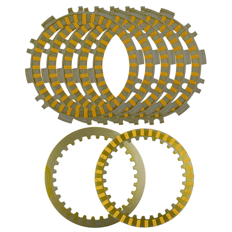A set Motorcycle Engine Parts Clutch Friction Plates Kit For YAMAHA T MAX500 TMAX500 T MAX