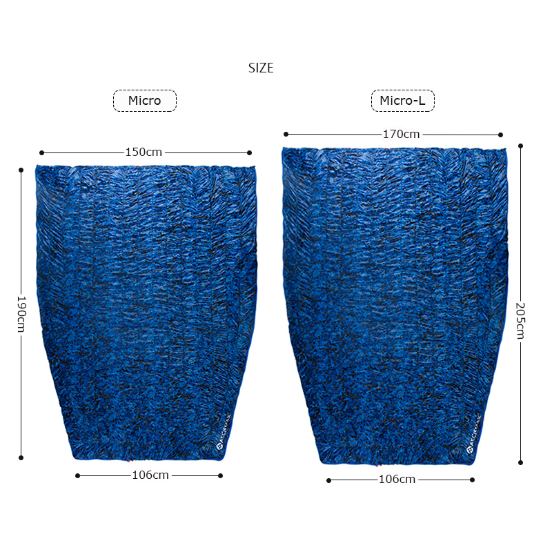 Aegismax микро Сверхлегкий походный Кемпинг конверт 95% белый утиный пух спальный мешок одеяло 3 сезона 700FP можно молнии вместе - 2