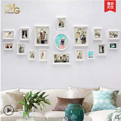 Classical White Wedding Photo Frames,Multi Photo Picture Frames ...