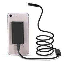 1 м-10 м Беспроводной 8 мм 8LED 720 P Водонепроницаемый WI-FI Камера инспекции эндоскопа бороскоп Камера для Android Окна IPhone IPad
