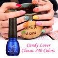 Candy Lover UV Nail Gel Polish Long Lasting LED UV Gel Polish Lacquer Base Gel And Top Coat Varnish Colorful Gel Hot Sale Colors