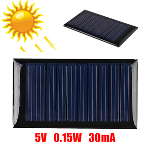 Image 4 - 0.15W/0.25W/1W 5V Mini Solar Panel Cell Charger Polycrystalline Portable DIY Battery Cell Charger Module for Phones Outdoors