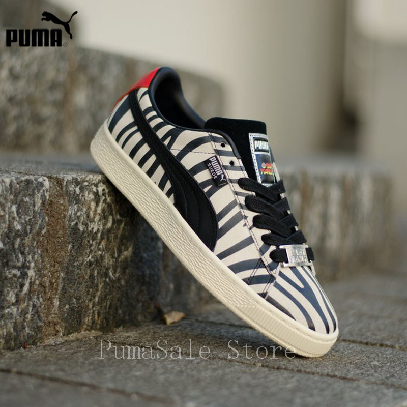 PUMA Suede Classic X Paul Stanley Women Sneakers 36628801 Low Top Badminton  Shoes Women 50th Anniversary Sports Shoes Size 36-40 c23f6b5c9