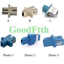 Fiber Hybrid Adapter Adaptor Coupler SC-LC LC-SC Simplex GoodFtth