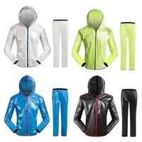 Women Men Cycling Raincoat Jacket Waterproof Bicycle Road MTB TPU Rain Coats Bike Clothing YS BUY