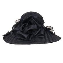 FS Elegant Large Brim Organza Hat