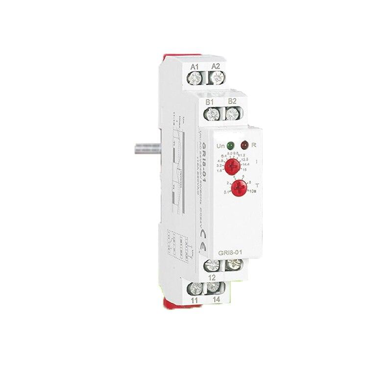 Din-schiene Stromüberwachung Relais Industrie Control Elektrische Relais Überstromschutz Relais GRI8