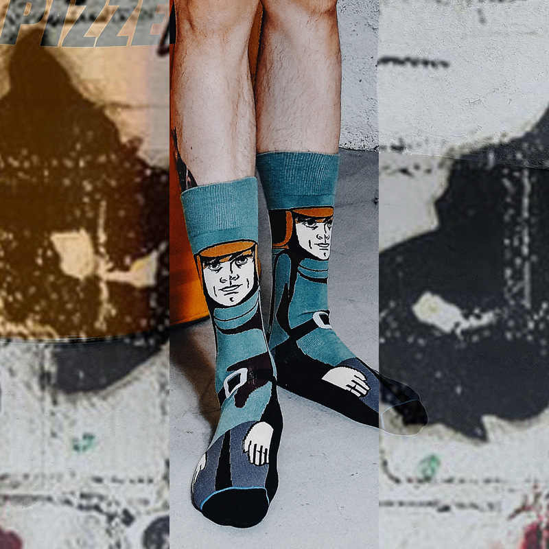Star Wars The Last Jedi Fashion Funny Cotton Socks Men Women Crew Long Happy Sock Male Winter Polo Warm Cartoon Print Flag Socks