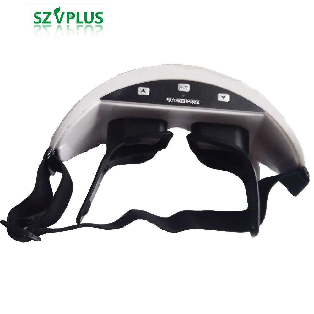 3D Green Light Eye instrument Child Myopia Treatment eye massager Rechargeable Wireless Restoration of vision eye glasses cat eye glasses tinize 2015 tr90 5832