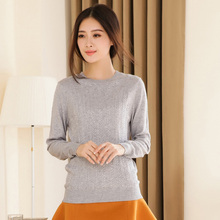 2017 Classic Lovely o neck twist loose and comfortable A little elasticity winter thickening female Cashmere sweater