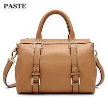Luxury Genuine Leather Women Handbag Brand Female Bags Fashion Cow Lady Tote Bag Business Messenger Elegant
