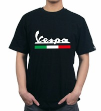 KODASKIN Motorcycle Style 100% Cotton for All Vespa Casual Short Sleeve O-neck T Shirt twenty one pilots we don t believe what is on tv casual o neck men s short sleeve t shirt 100