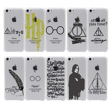 Harry Potter Transparent iPhone Case (10 Types)