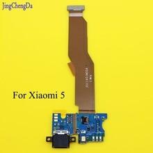 JCD для 5,15 ''Xiaomi Mi5 зарядный порт гибкий кабель запасные части USB док-станция зарядное устройство гибкий кабель для Xiaomi Mi5 Mi 5