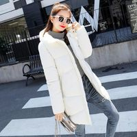 Winter Jacket Women Faux Fur Collar Womens Coats Long Down Parka Lady Hoodies Parkas Warmer Classical Jackets 3XL