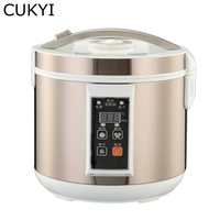 CUKYI 5L 6L Automatic Black Garlic Fermenter Household DIY Zymolysis Pot Maker 110V 220V Black Garlic