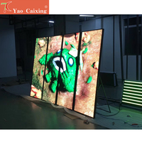 1950mm*650mm P2.5 P3 led poster ultra thin led display advertisement machine screen rgb smd dot matrix digital video tv screen