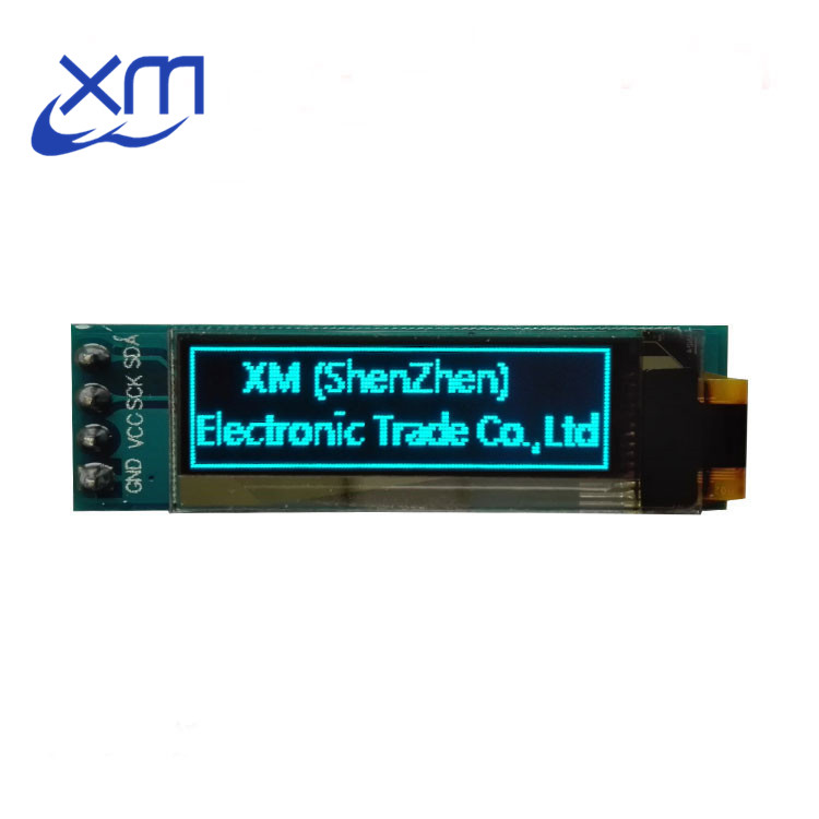 """Image 3 - 10pcs  0.91 inch OLED module  0.91"""" blue OLED 128X32 OLED LCD LED Display Module 0.91"""" IIC Communicate D34-in LED Displays from Electronic Components & Supplies"""
