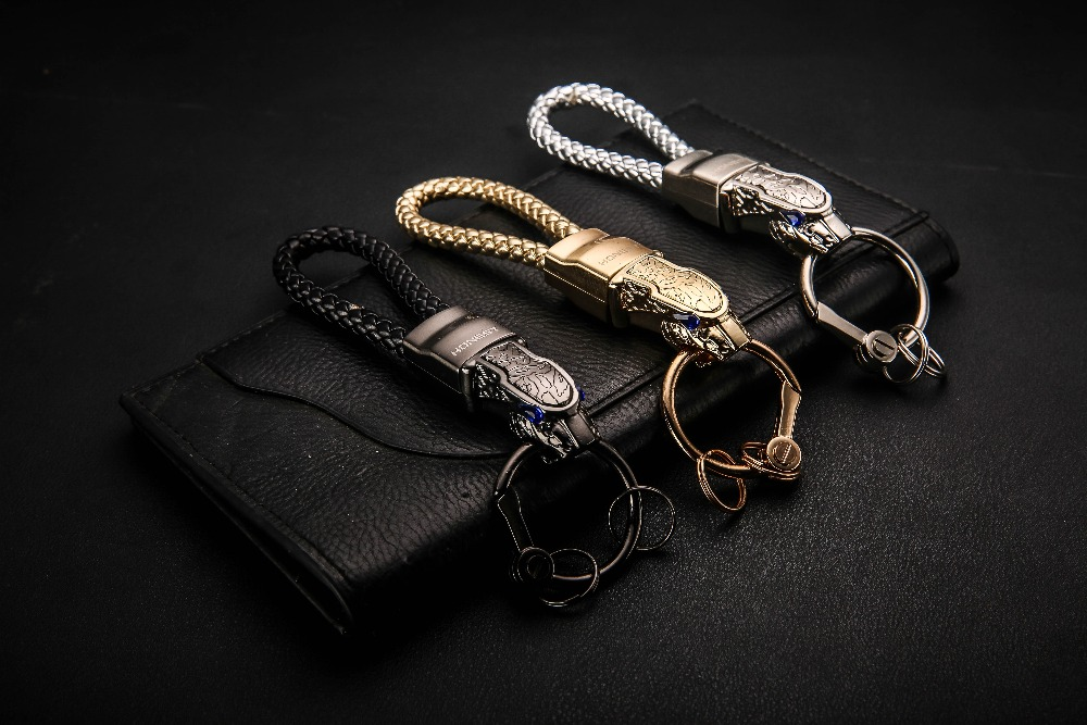 HTB1IrwVjiMnBKNjSZFCq6x0KFXaQ - New High Grade Men Key Chain Key Ring Rhinestones Car Keychains Holder Jewelry Bag Pendant Business Gift Genuine Leather K1572