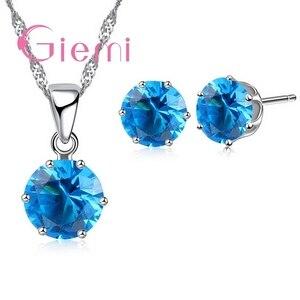 Top Quality Shining Clear CZ Jewelry Set