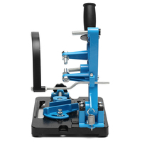 1Set universal 115 125 Angle Grinder Stand Power Tools Angle Grinder Holder bracket Metal Cutting Machine Base