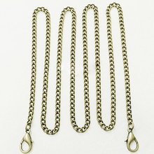 DIY metal chain strap for handbag girl bag hardware accessories 120cm 3pcs/lot