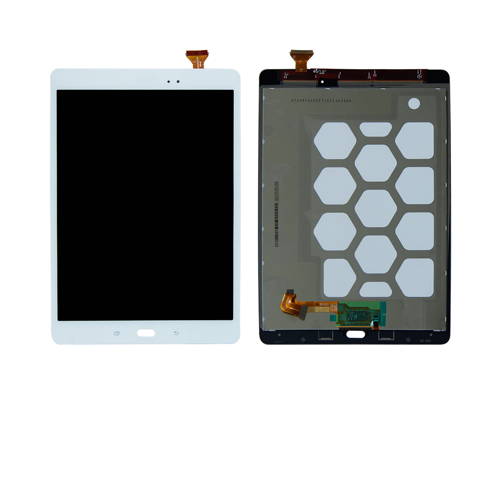 Free Shipping For Samsung Galaxy Tab A SM-T550 T551 T555 9.7 Touch Screen Digitizer + LCD Display Assembly for samsung galaxy mega 5 8 i9150 i9152 lcd display with touch screen digitizer assembly by free shipping