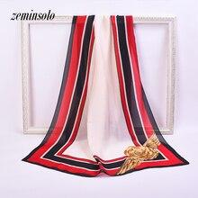 Big Size 180X90cm High Quality Scarves For Women Bandana Spring Pure Silk Scarf New Style Fashion Ladies Long Shawl Hijab