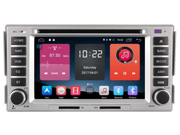 Android 6 0 font b CAR b font Audio DVD player FOR HYUNDAI SANTA FE ELANTRA