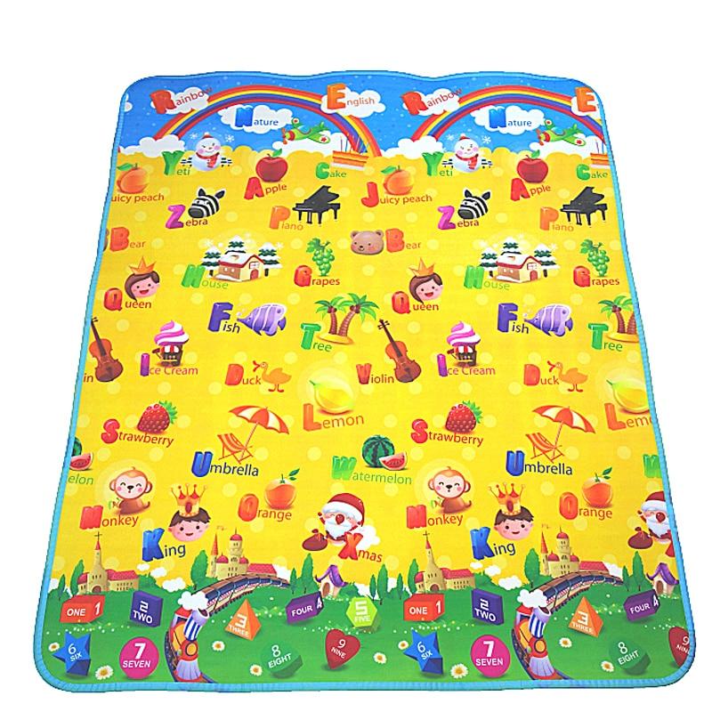 Matte für Kinder Teppiche Kinderspielzeug Teppich Entwicklung Teppich Spielmatten Teppich Spiele Spielen Kindermatte Babyspielzeug Spielzeug für Kinder Spielmatte