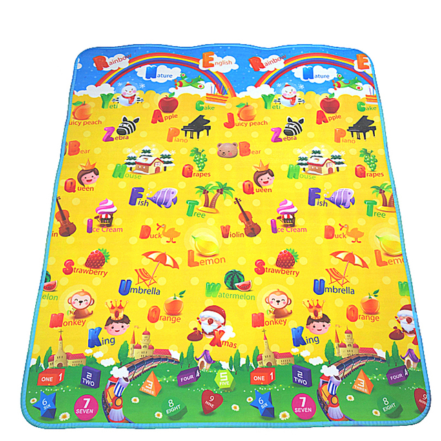 Matte für Kinder Teppiche Kinder Spielzeug Teppich Entwicklung ...