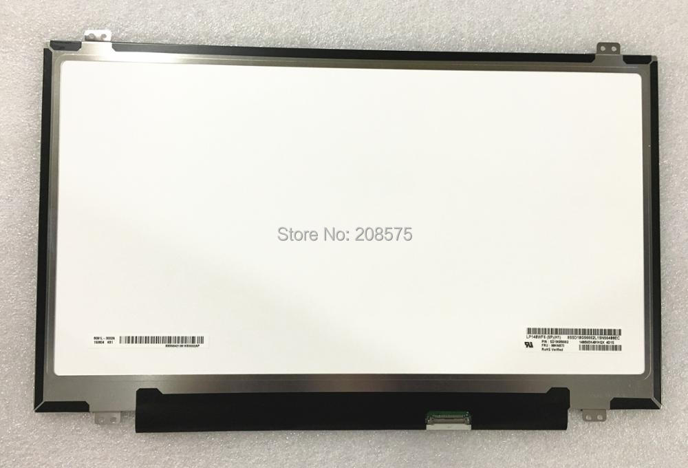 Free shipping ! LP140WF6-SPH1 LP140WF6 SPH1 Fit for Lenovo X1 Laptop lcd screen 1920*1080 without touch screen