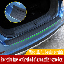 Universal Car Trunk Bumper Mouldings Auto Rubber Trim Rear Guard Plate Protective