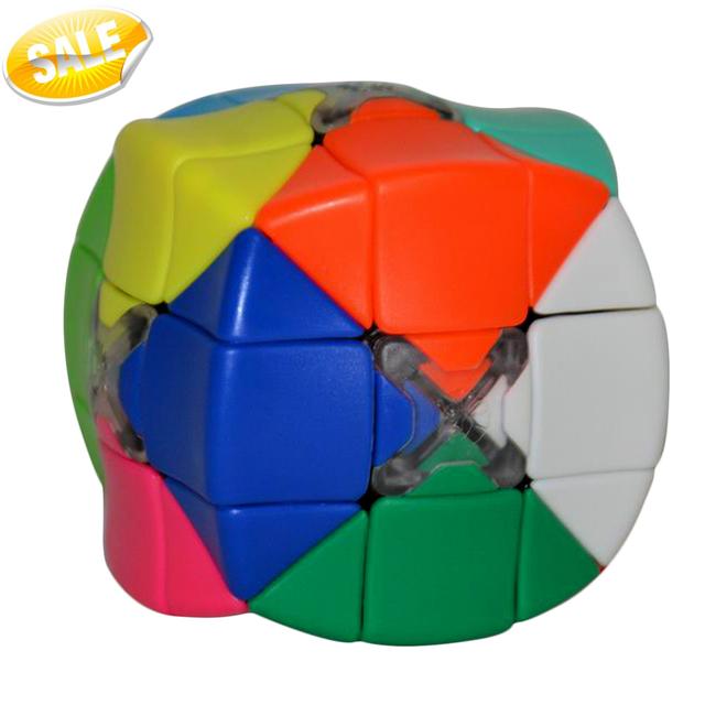 Lo nuevo Cube Cubo de Armadillo Lo Último 12 Color Espacial Toque de Puzzle Cubos de Colores Stickerless 3x3x3 Velocidad Cubos de la magia Rompecabezas