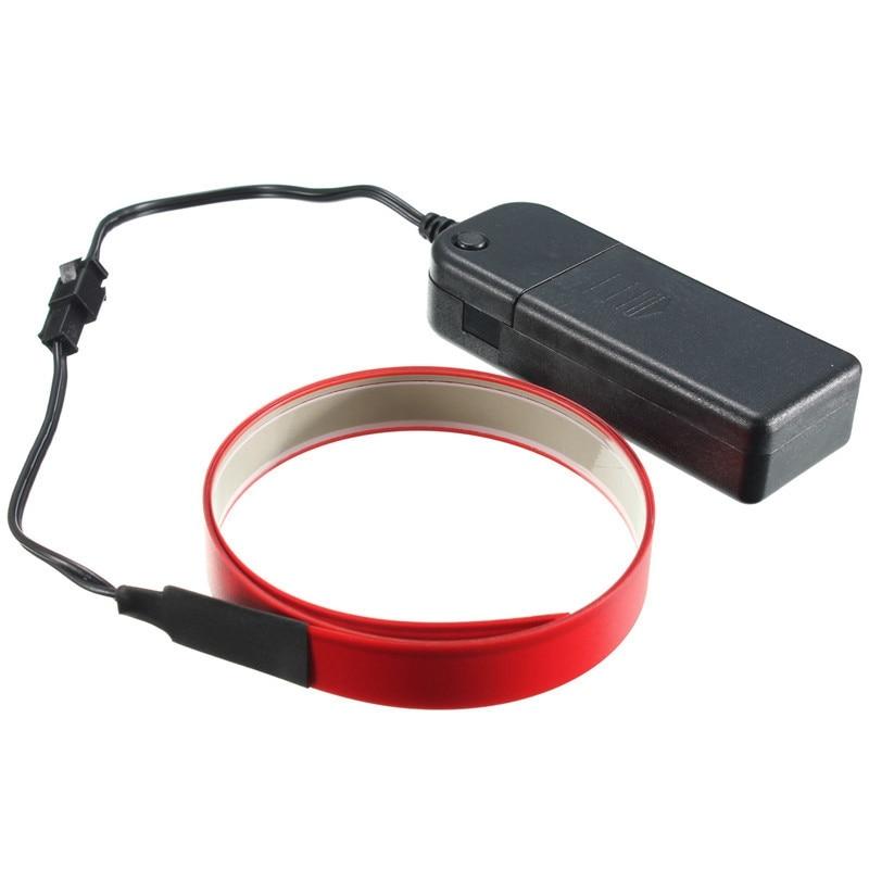 1 Mt 4 Modi Elektrolumineszenz Band EL Draht Leuchtende LED Seil ...